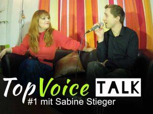 Sängerin und Amadeusgewinnerin Sabine Stieger im Gespräch mit TopVoice Vocalcoach Andreas Lanegger