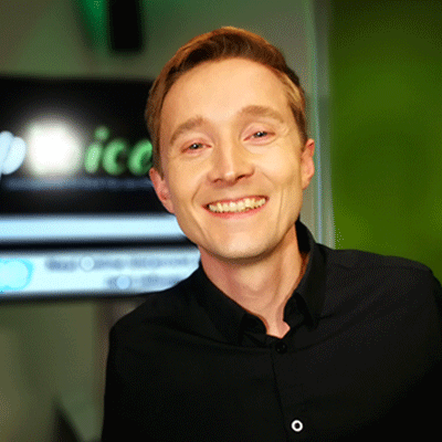 Portrait von Gesangslehrer Andreas Lanegger